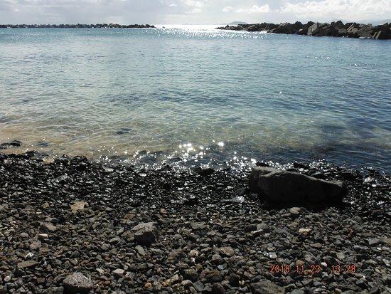 stones and sharp rocks