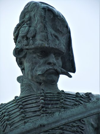 Statue of Old Hussar 이미지