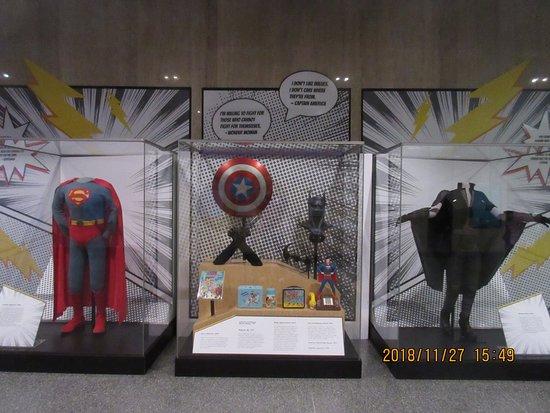 National Museum of American History: Superheroes display
