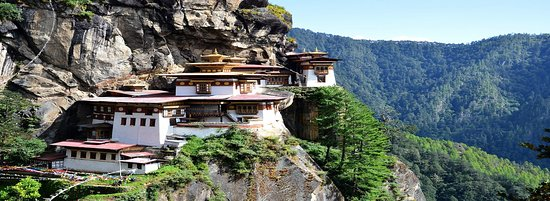 Tiger Nest at Paro(Taktshang)
