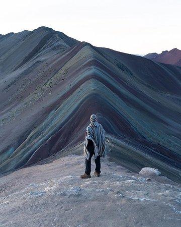 Rainbow Mountain Sunrise