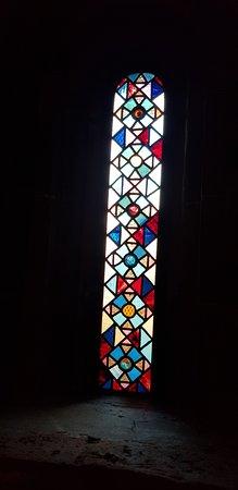 Basilica San Teodoro: FINESTRELLA SULL'ALTARE