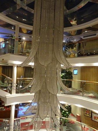 Yangtze Cruise Experts: étages sur le bateau