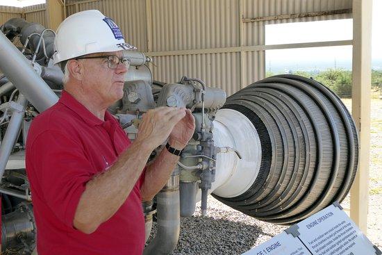 Titan Missile Museum: Det första steget motorer