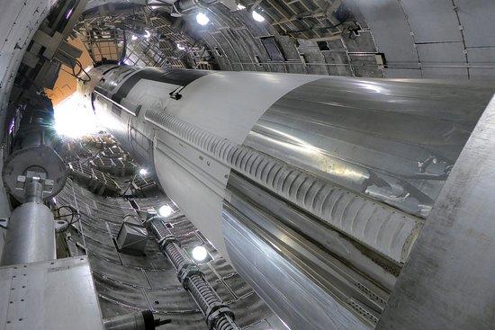 Titan Missile Museum: Vy från botten och upp