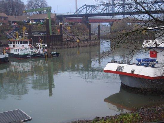 Duisburg, Germany: Rinos river