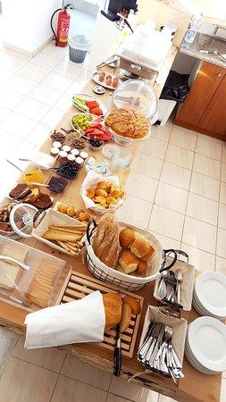 Buffet Breakfast, Cretan Specialities and more...
