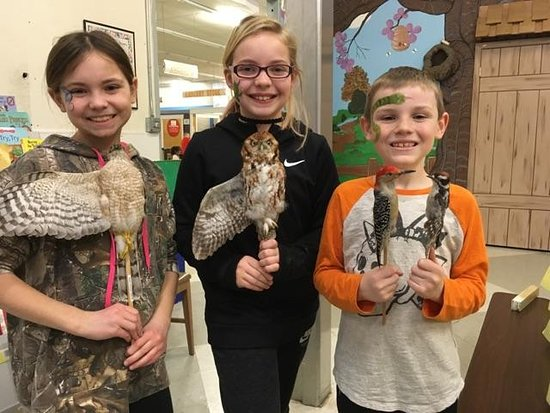 Learning about birds on Funtime Friday