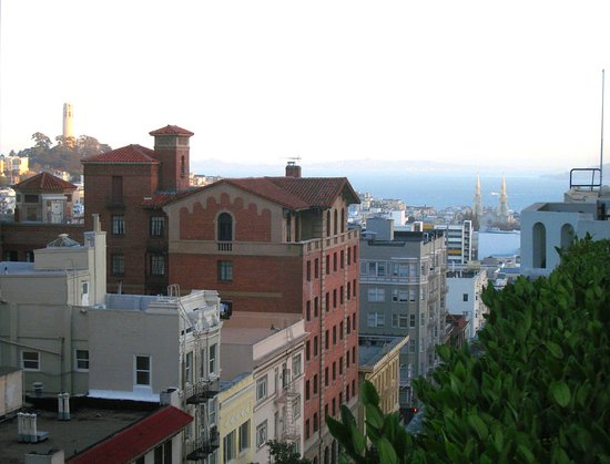 Fairmont San Francisco: Wonderful vistas