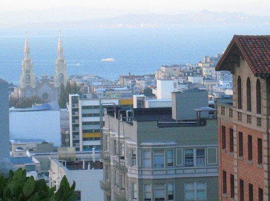 Fairmont San Francisco: SS. Peter and Paul Church steeples