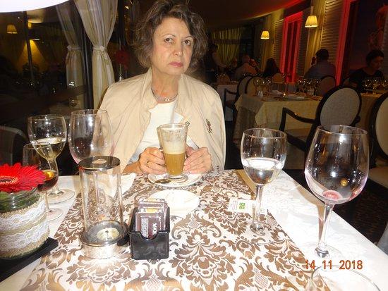 Restaurante Do Forte: Она лишь с виду так сурова