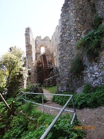 Die tolle Ruine mit ihrer fantastischen Aussicht