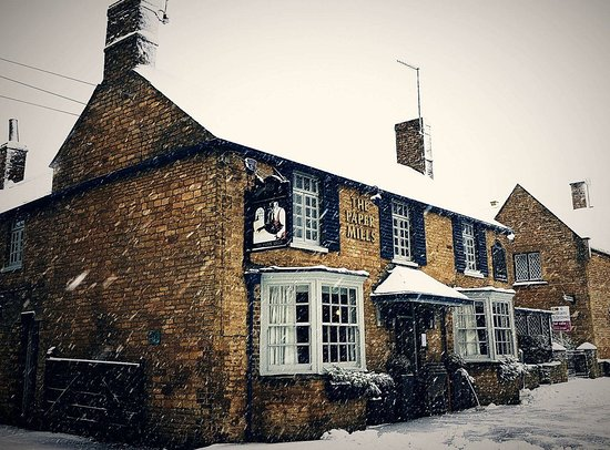 Wansford, UK: The Paper Mills in Winter