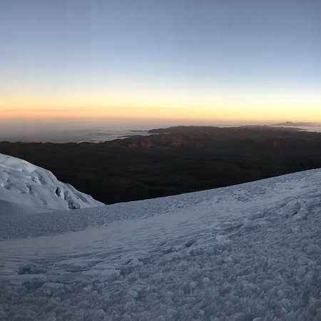 Summit of Chimborazo.