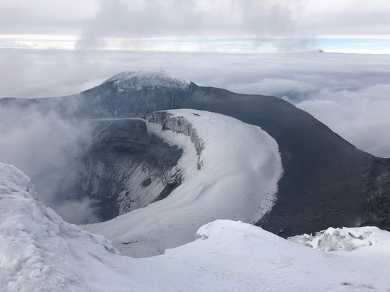 Summit of Cotopaxi.