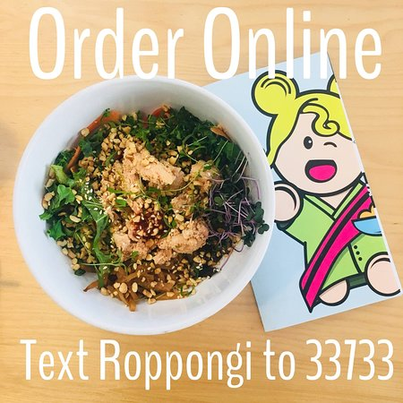 Online order through Chow Now