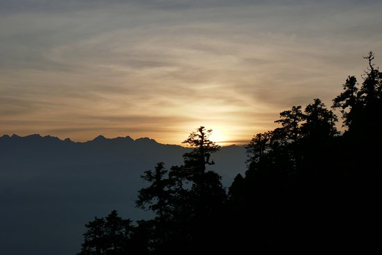 Mountain Delights Treks & Expedition: Sunrise in the Langtang mountain range
