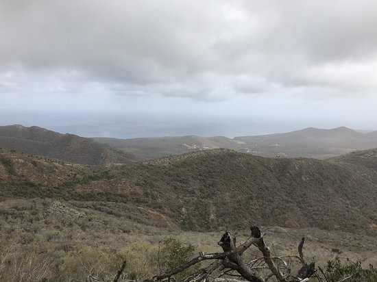 Christoffel Nationalpark, Curaçao: View from top of mountain.
