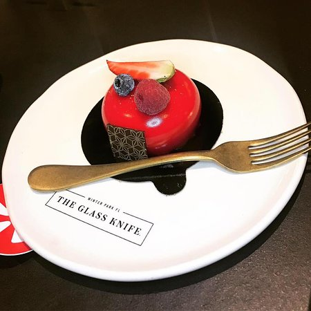 The Glass Knife: Berries and Cream