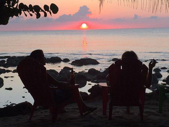 La Princesa de la isla: Enjoying the sunset