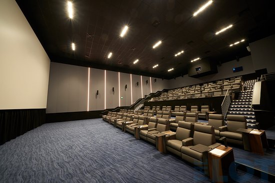 One of our luxury CINEMA screens at THE LOT City Center