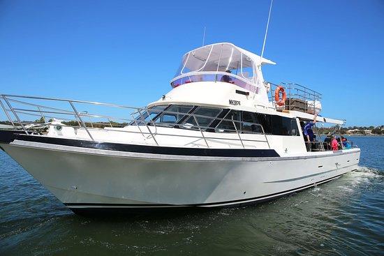 Rottnest Island, Australia: Luxury charter vessel.