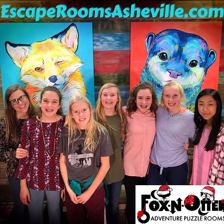 FOX-N-OTTER Adventure Puzzle Rooms