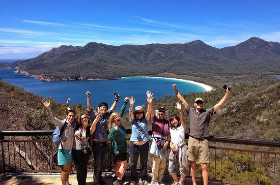 Wineglass Bay und Freycinet National ...