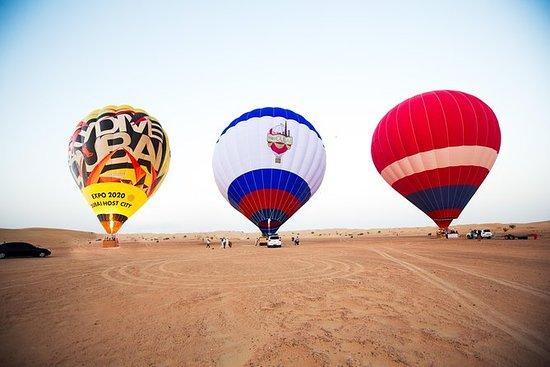 Heißluftballon Fahrt in Dubai