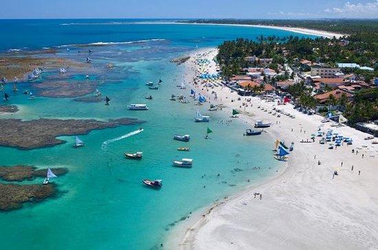 Berømte stranden Porto de Galinhas...