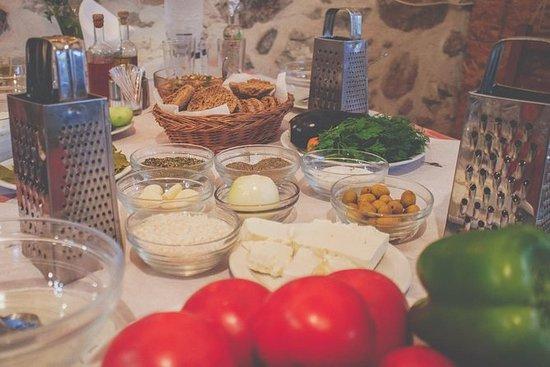 Clase de cocina cretense