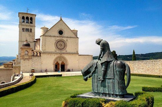 Assisi y Perugia tour de un día desde...