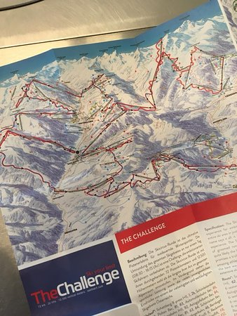 Maishofen, Austria: Surroundings - Saalbach/Hinterglemm Ski Challenge