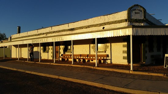Travel West: Stay at the iconic Birdsville Hotel.