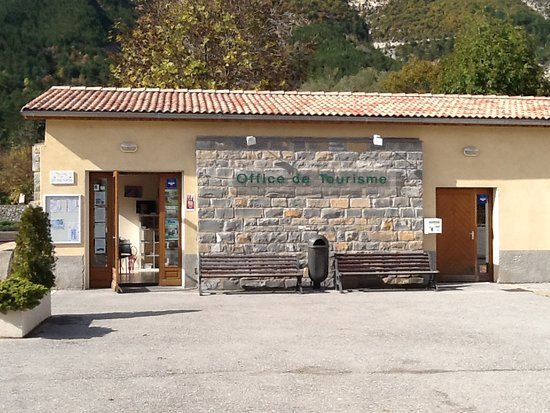 Saint Andre Les Alpes, Frankrike: Bureau d'information touristique de Saint André les Alpes. OTI Verdon Tourisme