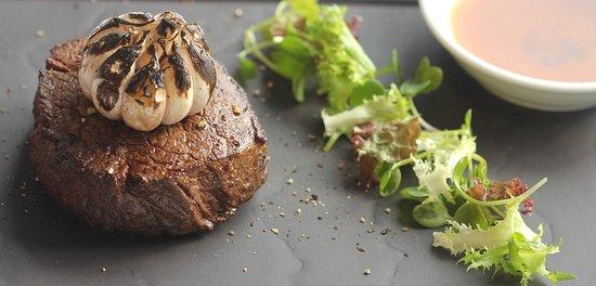 Signature Restaurant: Butter-aged US beef tenderloin 220gr