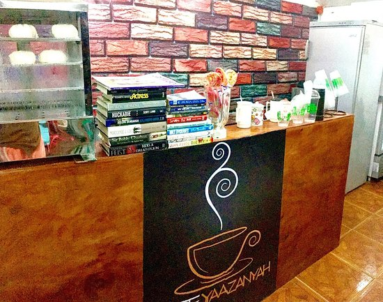 At Cafe Yaazanyah, we offer you more than coffee :)