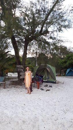 Sandbank Restaurant & Camping Koh Rong Picture