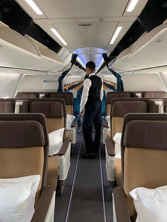 Oman Air: Business class