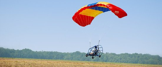 Jim Corbett National Park, Indien: Powered Paragliding, Corbett
