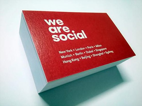1 Hour Business Cards High Quality Professional Printing Services Hong Kong