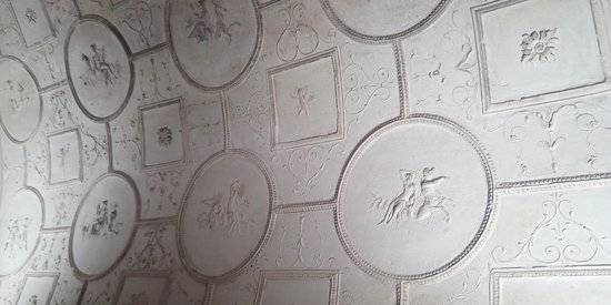 Tombs of Via Latina: Particolare all'interno della Tomba dei Valerii