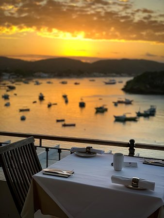 74 Restaurant: Pôr do sol