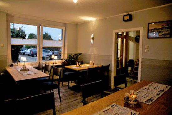 Gasthaus-Pension Zum Elbblick: Unser Clubzimmer zum Speisen, Feiern oder auch Besprechungen