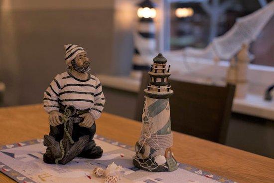Gasthaus-Pension Zum Elbblick: Maritimes Ambiente in unserem Clubzimmer