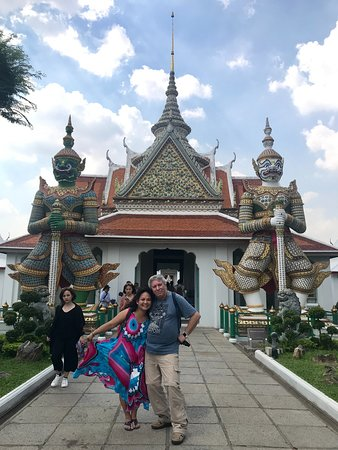 Giant at Wat Arun