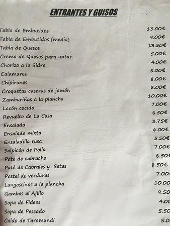 CASA PAULINO: Carta