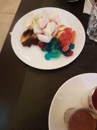 Wafu: Assiette bonbons