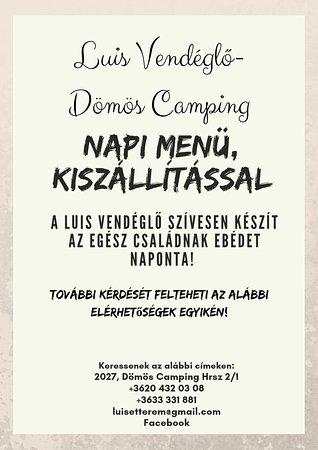 Domos, Венгрия: Luis Vendéglő