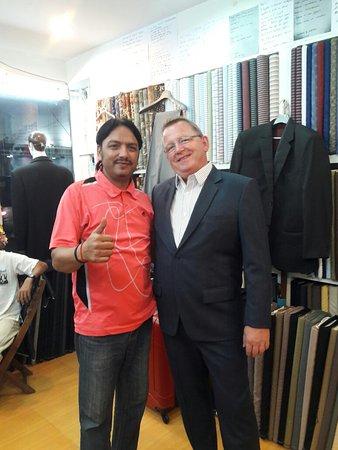 Italian Fashion Suit
